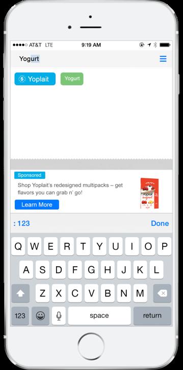 Yoplait_Search