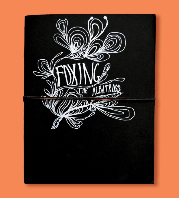 foxing book cover