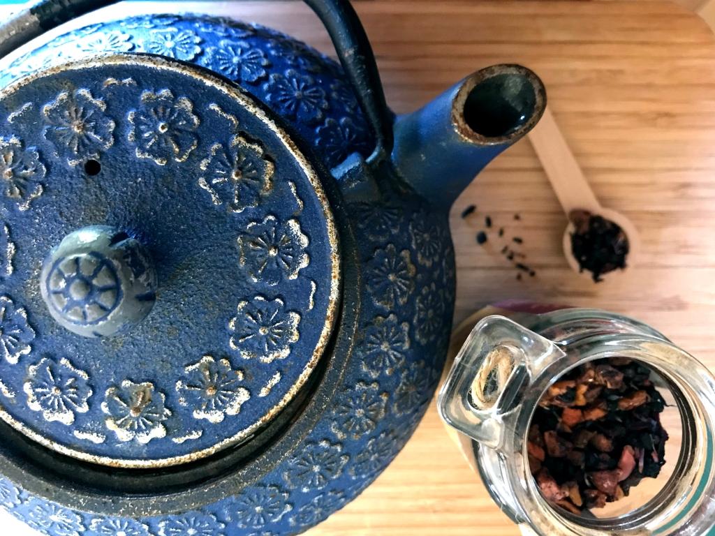 Tea with Tea Pot
